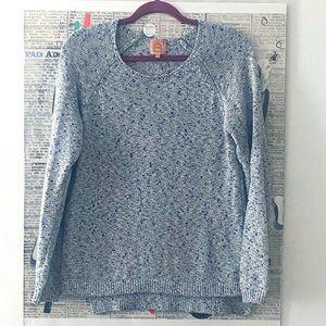 Bensimon blue metallic sweater